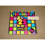 Timbiriche 25 Vivo En Vivo 2008 Emi 2 Cds + Dvd