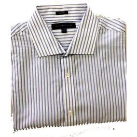 Camisa Tommy Hilfiger Slim Fit -grande- Azul