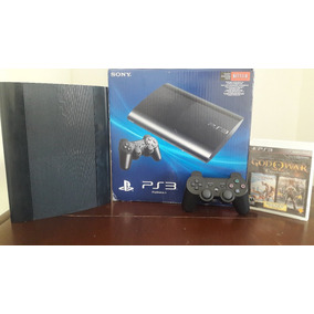 Play Station 3 Ultra Slim 500 Gb + God Of War Collection