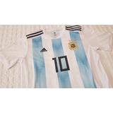 Camiseta Selección Argentina Mundial 2018 De Local Nuevas