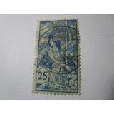 Jubile Union Universelle Postale 1900 Antigua Estampilla E3