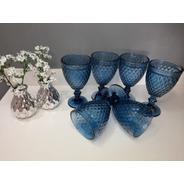 Taças Bico De Jaca 300ml Azul