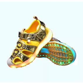 Sandalias Y Zapatillas Led Importadas Niña Niño