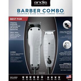 Máquina De Corte Andis Barber Combo 66325 T Outliner