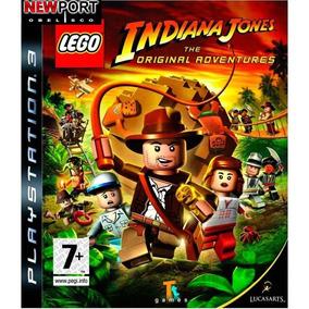 Lego Indiana Jones Ps3 Fisico Sellado Nuevo Local A La Calle