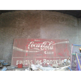 Cartel Coca Cola Antiguo