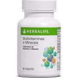Multi-vitaminas E Minerais 90 Tabletes Herbalife Suplemento