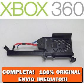 Suporte Hd Xbox 360 Super Slim C/ Cabo Sata Energia Original