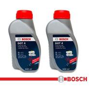 2 Fluídos De Freio Bosch Dot4 Para Hyundai Hb20