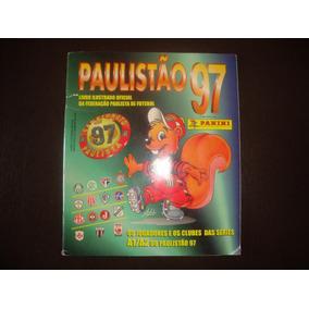 Album Panini Paulistão 1997 Semi-completo
