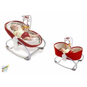 Cadeira De Balanço 3 Em 1 Rocker-vermelho- Tiny Love
