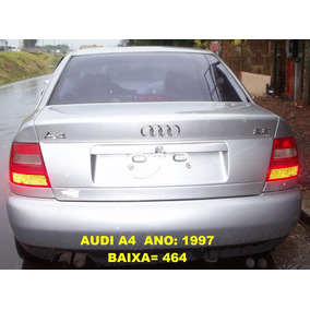 Comando Chave Seta Limpador Na Troca Audi A4 V6 1997