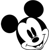 Sticker Vinil Mickey Mouse Carro Moto Laptop Ps4 Ps3 Xbox