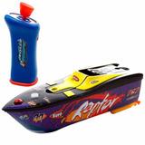 Lancha Barco Controle Mutikids Aqua Racers Manobras Radicais