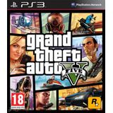 Grand Theft Auto V Gta V Ps3 + Online