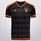 Camisa Do Sport Recife Leão Ilha Rubro Negro Preta Laranja