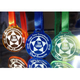 Medallas En Acrilico 3mm 6cm Trofeos Premiacion Deportivas