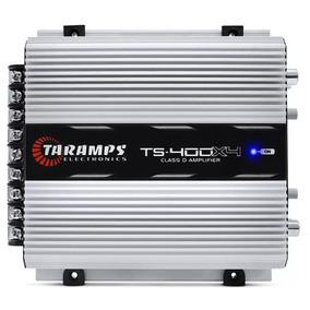 Modulo Taramps Ts400 X4 Digital 4canais 400rms Via Rca+frete