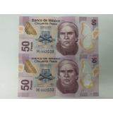 Billetes 50 Pesos Serie Consecutiva