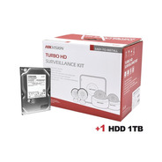 Disco Duro 1 Tb + Sistema Completo De Cctv 1080p / Hik-conn