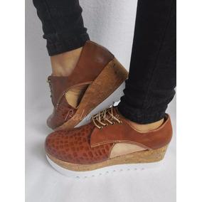 Zapatos Plataformas De Moda Para Vestido O Pantalón