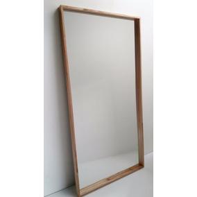 Espejo de pie espejos en mercado libre argentina for Espejos con marco de madera blanco