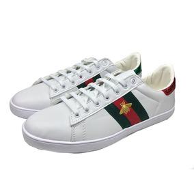 ea73c63f1 Zapatos Gucci Para Hombre A - Ropa, Bolsas y Calzado Blanco en ...