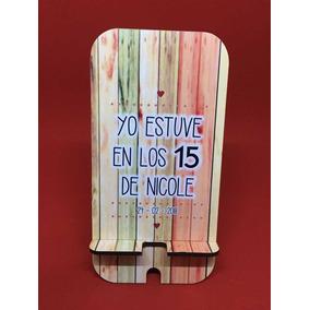 Souvenirs Cumple 15 Soporte Apoya Celular Vintage