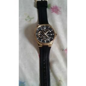 Relógio Orient Original Folhado A Ouro