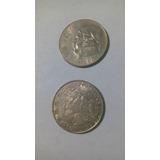 Monedas De 1 Peso Morelos, -1971-1972-1977-1980-1981-1982