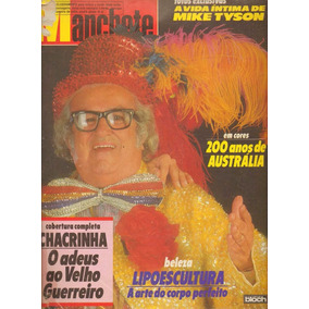 Revista Manchete N:1891 - Chacrinha - Julho De 1988
