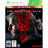 X360 Metal Gear Solid V The Phantom Pain Day One