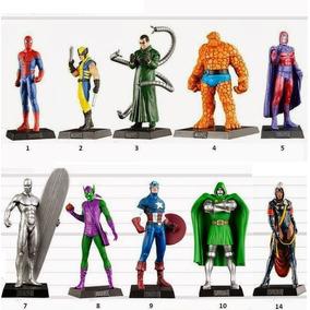 Eaglemoss Dc Comics E Marvel Figuras Chumbo Valor Unitário