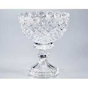 Fruteira Cristal Com Pe 20,2x24,2 Diamond Lyor 3328
