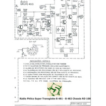 Manual Rádio Philco Transglobe B841 B842 - Frete Grátis