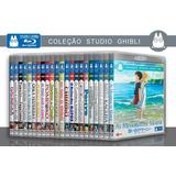 Studio Ghibli Coleção Blu-ray 27 Filmes C/ 16 Dublagens 5.1