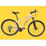Bicicleta 29 Kit Shimano Altus 27v Freio Hidr. E Brinde