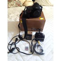 Nikon D800 Na Caixa, Com Mais Uma Bateria