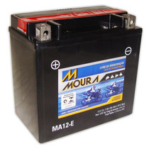 Bateria Moura Ma12-e Quadriciclo Honda Trx 350/420 Fourtrax