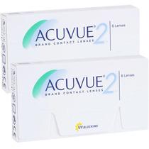 Lente Contato Acuvue2 -3.75 - Com 6 Lentes ( 3 Pares)