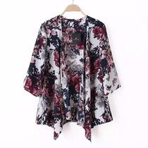 Kimono Floral By Vera Benson