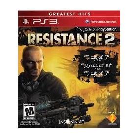 Resistance 2 Ps3 Usado Solo Venta Shooter