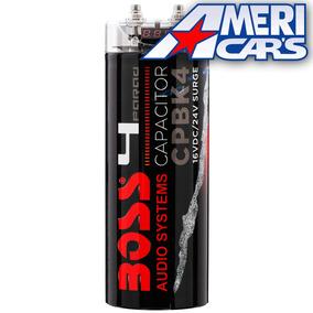 Capacitor Boss 4 Faradios Max 5000w Potencia Auto. Audio Car