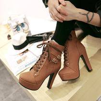 Sapato Feminino Bota Feminina Cano Baixo Importada
