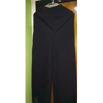 Pantalon Tipo Cocktel Dama Negro Usado Tienda Virtual