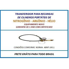 Transferidor Gas Hélio Para Inflar Balões - Novo