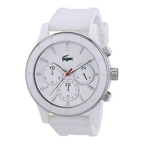 Lacoste Mujer Charlotte Reloj Blanco