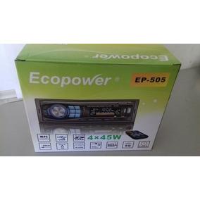 Radio De Carro Ecopower Ep 505 Novo Na Caixa