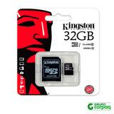 Memoria Micro Sd Para Celular 32gb Kingston Clase 10