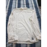 Camisa Tipo Swheter Blanco Nike